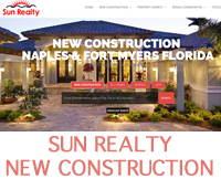 Sun Realty New Construction Website