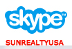 SKYPE with Sun Realty USA, Inc or sunrealtyusa.